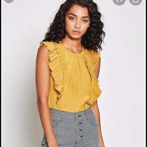 Anthropologie Joie Cruzita ruffle blouse